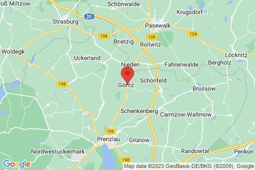 Karte Göritz