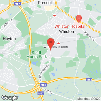 Map of Bargain Booze Select Convenience Gin in Whiston at 3 WINDY ARBOUR ROAD, PRESCOT, MERSEYSIDE L35 3PA