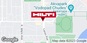 Get directions to Региональный представитель Hilti в г. Магнитогорск
