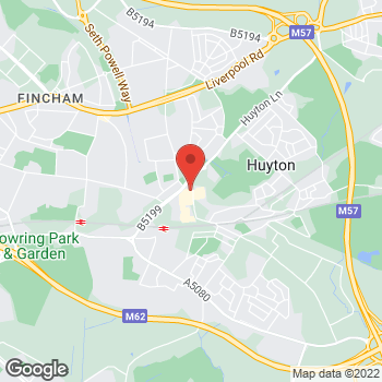 Map of wilko Huyton at Unit 20, Huyton,  L36 9YG