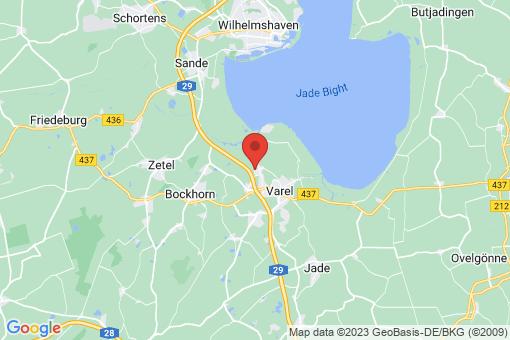 Karte Varel Dangastermoor