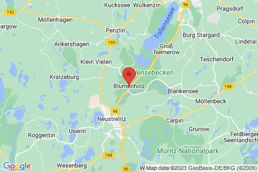 Karte Blumenholz
