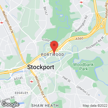 Map of wilko Stockport at The Peel Centre, Stockport,  SK1 2HH