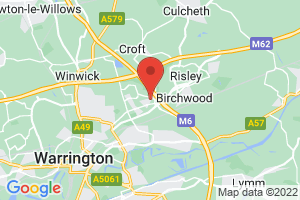 University of Chester, Warrington Campus, Broomhead Library on the map