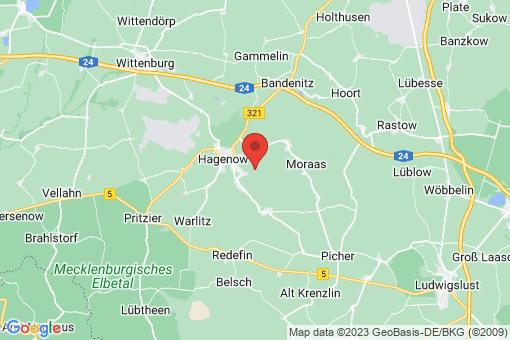 Karte Hagenow