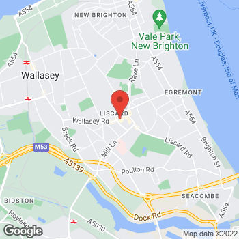 Map of wilko Wallasey at Town Field Way, Wallasey,  CH44 5XU