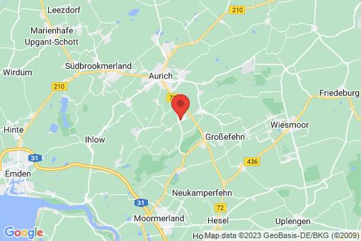 Karte Ihlow Ostersander