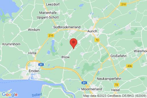 Karte Ihlow Bangstede