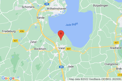 Karte Varel Moorhausen