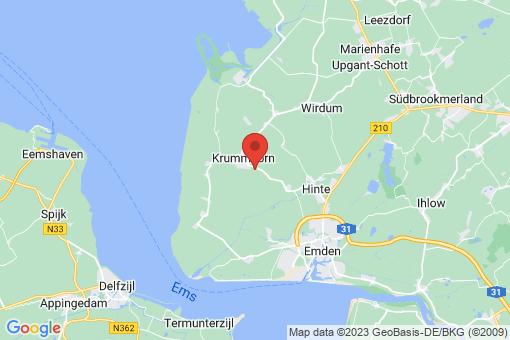 Karte Krummhörn Canum