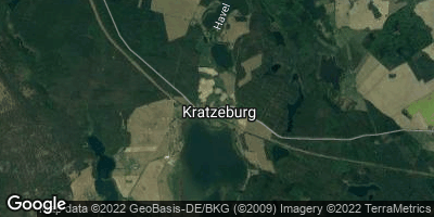 Google Map of Kratzeburg