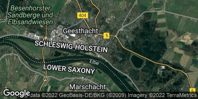 Google Map of Geesthacht