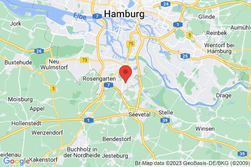 Karte Hamburg Langenbek