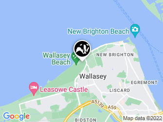 A static map of Wallasey