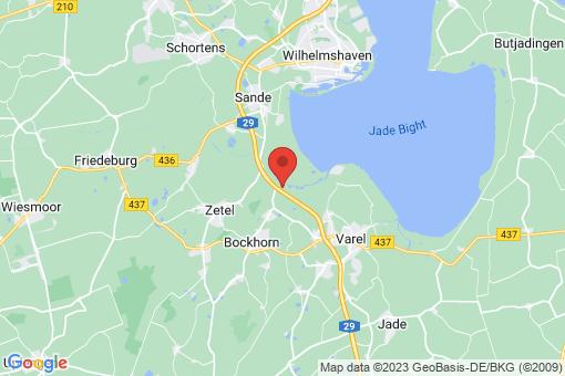 Karte Bockhorn Ellenserdammersiel