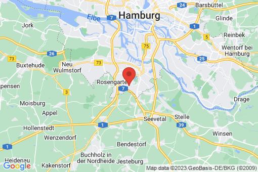 Karte Hamburg Marmstorf