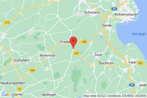 Karte Friedeburg Marx
