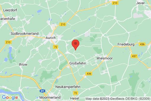 Karte Großefehn Felde