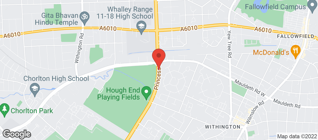 Hough End Leisure Centre location and directions