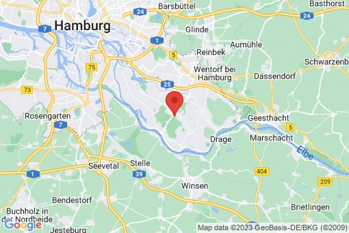 Karte Hamburg Kirchwerder