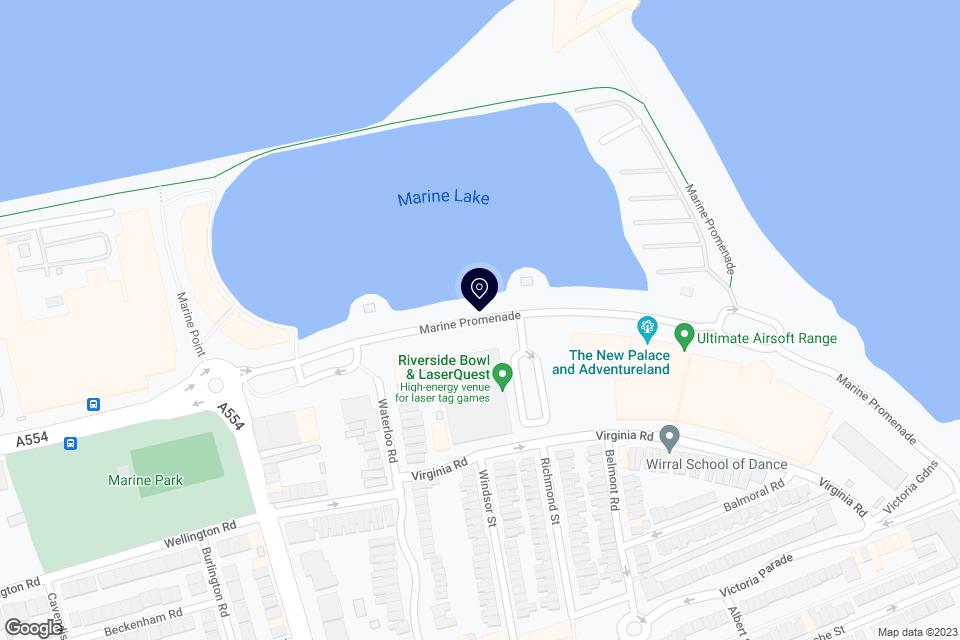 Marine Promenade, New Brighton, Wirral, CH45 2JS map