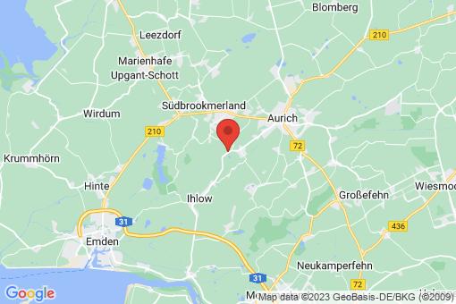 Karte Ihlow Westerende-Holzloog