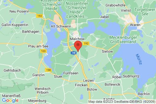 Karte Grüssow