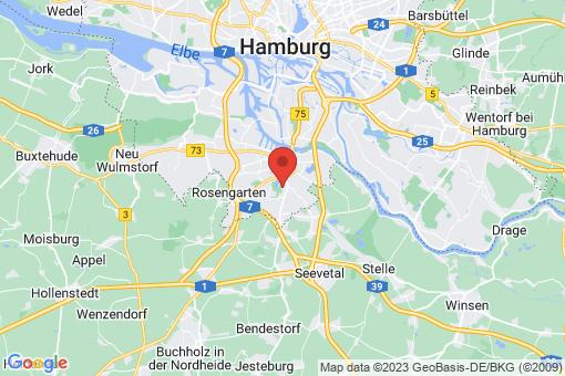 Karte Hamburg Wilstorf