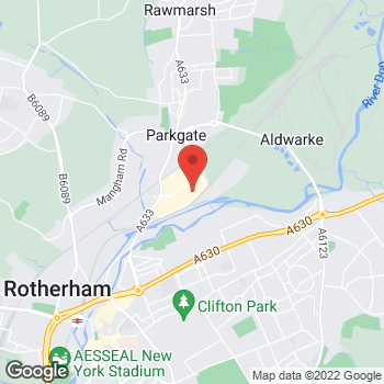 Map of wilko Parkgate - Rotherham at Unit 1B Stadium Way, Rotherham,  S60 1TG
