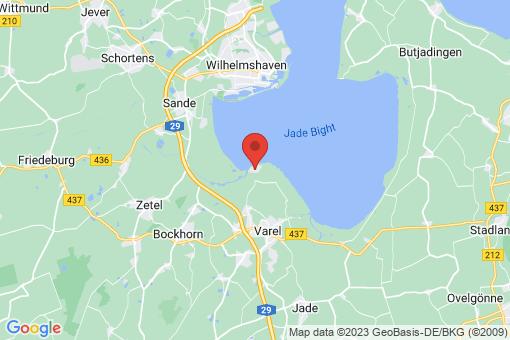 Karte Varel Dangast