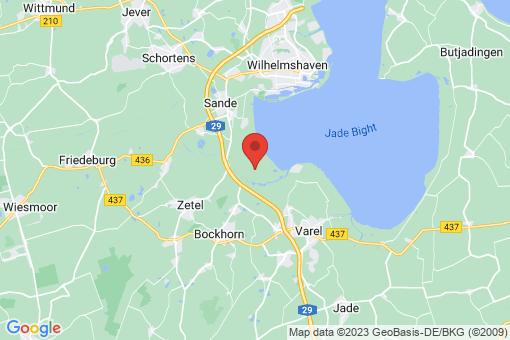 Karte Bockhorn Adelheidsgroden