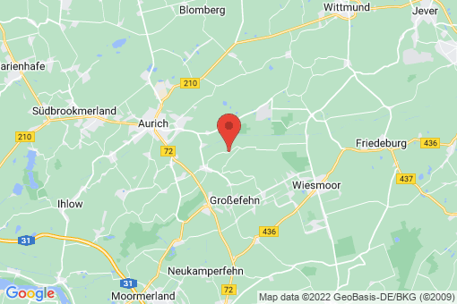 Karte Großefehn Akelsbarg