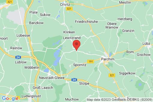 Karte Matzlow-Garwitz