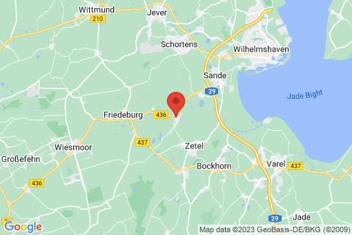 Karte Friedeburg Horsten