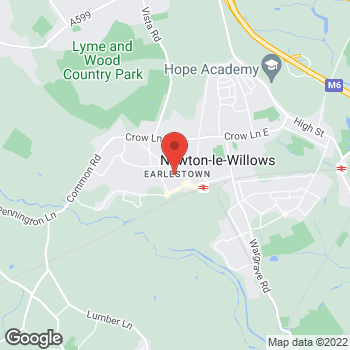 Map of wilko Earlestown at 49/53 Market Street, Newton-le-Willows,  WA12 9BH