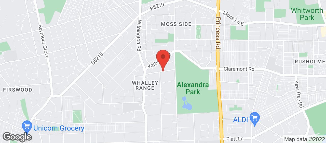 Whalley Range Sports Centre location and directions