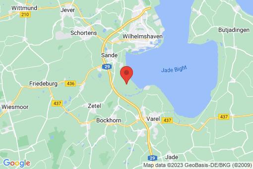 Karte Bockhorn Petersgroden