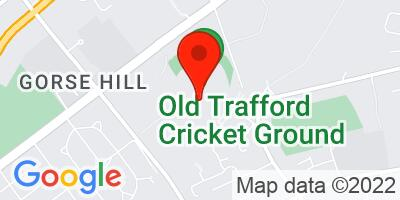 Map of Old Trafford Cricket Ground