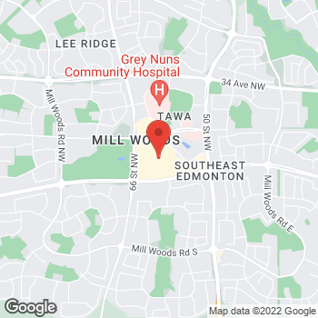 Map of LensCrafters at 2331 66th Street NW, Edmonton, AB T6K 4B5
