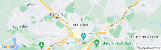 Map Of St. Helens