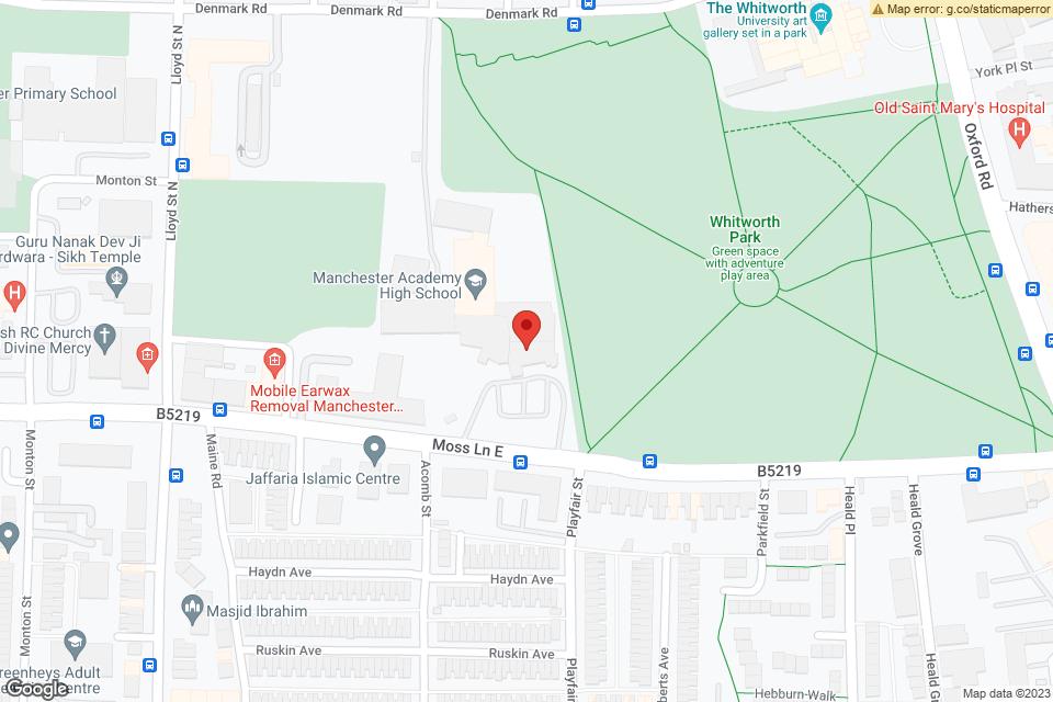 Manchester Academy 3, Manchester, M13 9PR map