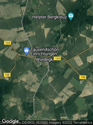 Google Map of Woldegk