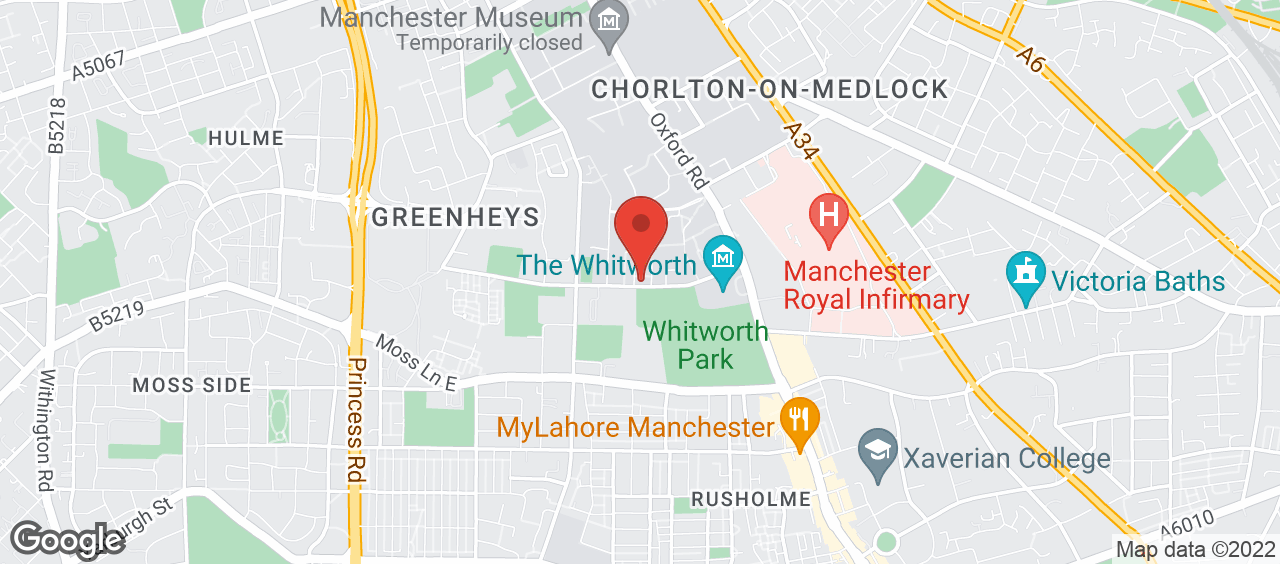 Denmark Road Sports Centre location and directions
