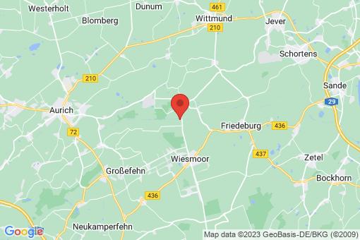 Karte Wiesmoor Marcardsmoor