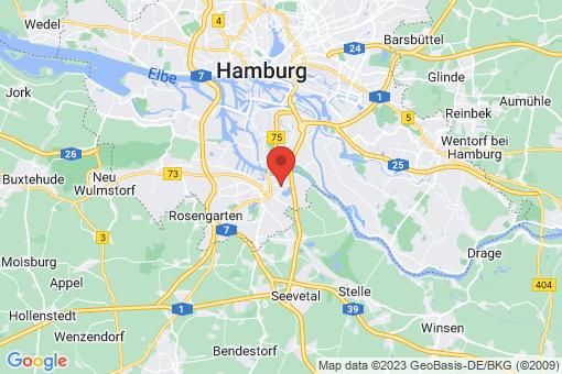 Karte Hamburg-Harburg