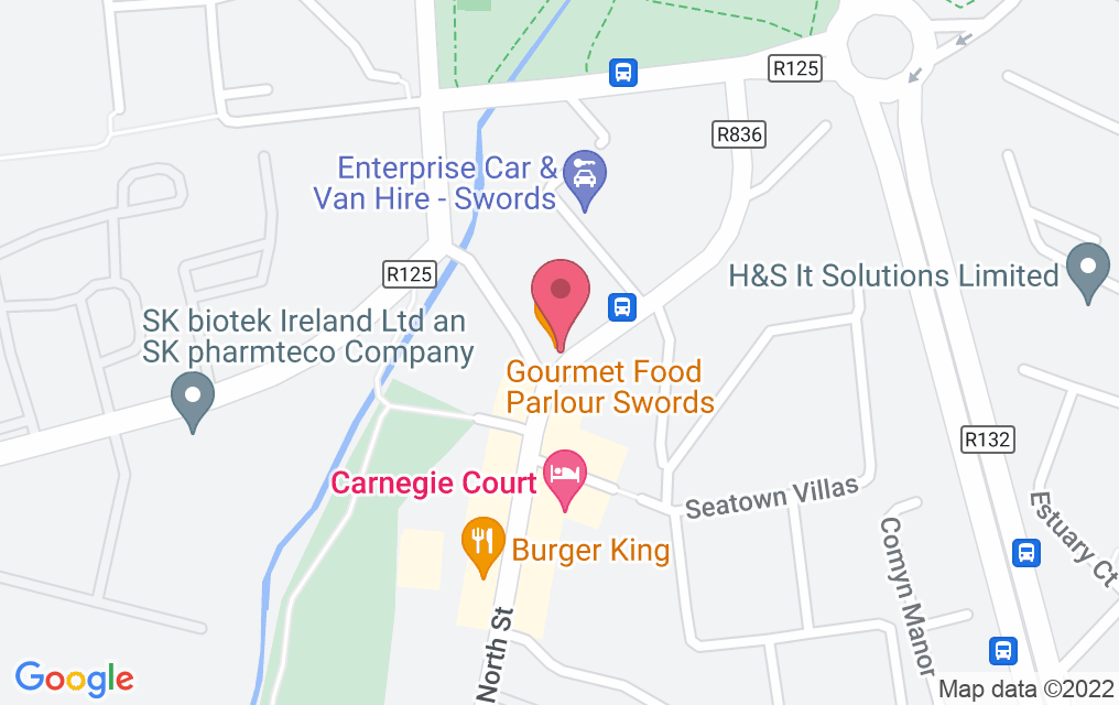 Get directions to Gourmet Food Parlour - Swords
