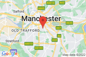 University of Manchester Library on the map