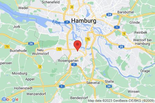 Karte Hamburg Heimfeld