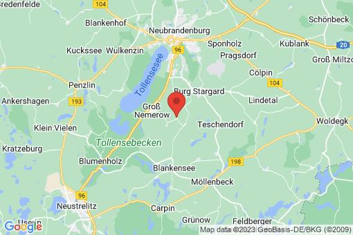 Karte Holldorf
