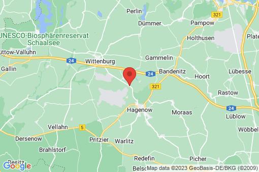 Karte Bandenitz